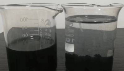 Decolorization of Inky Wastewater Treatment