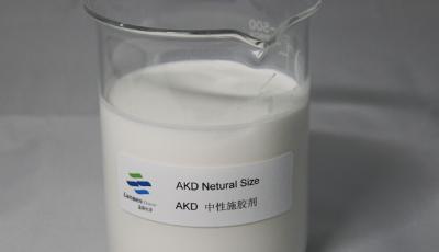 Sizing principle of AKD emulsion