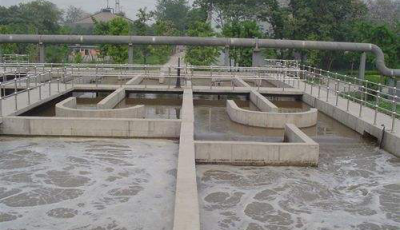 Three levels of wastewater treatment