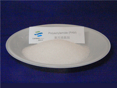 How does Polyacrylamide( PAM) work in paper making industry?